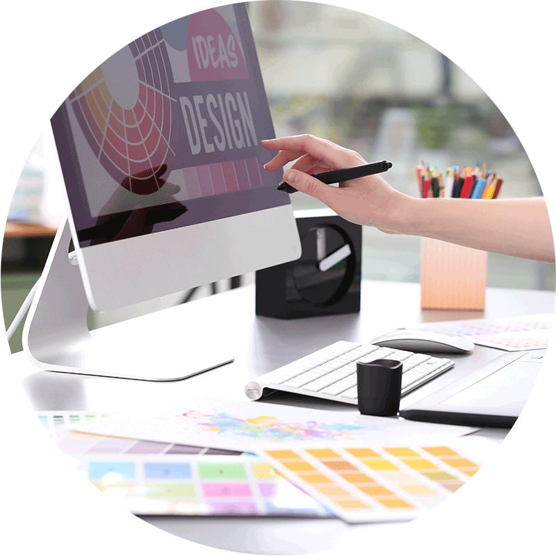 Un design sur mesure pour votre communication grâce à une graphiste webdesigner sur Lille Nord