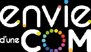logo envie d'une Com - graphiste webdesigner freelance